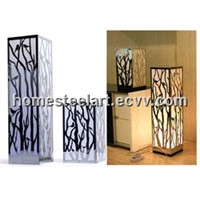Mirror Stainless Steel Forest Table Lamp