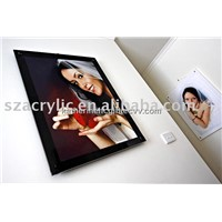 Acrylic Wall Mounted Photo Frame