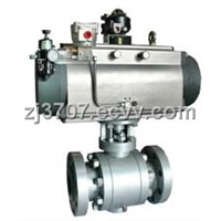 SPHO Pneumatic High Pressure Ball Valve / Pressure Valve(O- Type)