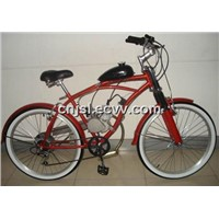 Red Petrol Bicycle