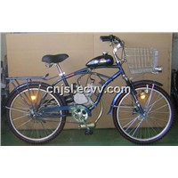 Blue Gasoline Bike (JSL-GE01, Rear Reack)