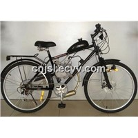 Black Gas Bike with Speed Gear (JSL-GE02)