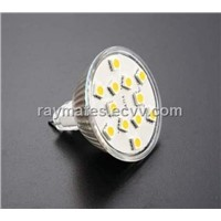 12 SMD LED Bulb MR16 White Cool