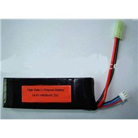 14.8V 4400mAh RC Li-Polymer battery