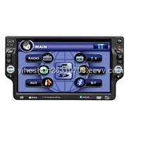 1-DIN 7.0 inch TFT-LCD Car DVD Player