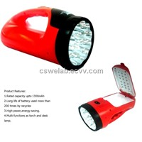 33 LED Flashlight Torch Light with Multifunction