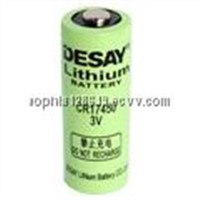3.0V Cylindrical Lithium Manganese Dioxide Battery (CR17450)