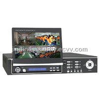 4Channel DVR with 7inch LCD DVR (JD-DM8204ST)