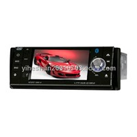 4.3-inch Touch Screen 1 DIN In-Dash Car DVD TV and Bluetooth - Detachable Panel