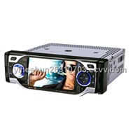 4 Inch 1 DIN Digital Touch Screen In-Dash Car DVD Player