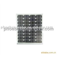55w High Efficiency Monocrystalline Solar Module