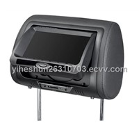 "7"" TFT-LED Car Monitor with DVD Player / GAME"