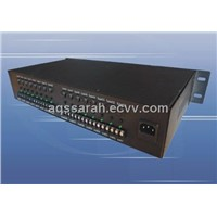 AC 24V 10Amp16 Ways CCTV 2U Rack Mount Power Supply