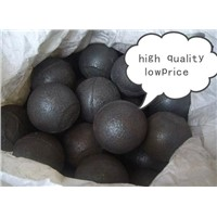 Alloyed cast grinding steel ball