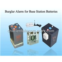Anti-theft Alarm for Communications Enclosures Batteries