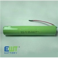 3.6 Ni-MH Rechargeable Battery Pack (C5000mAh)