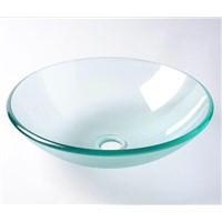 CE Approved Glass Sink