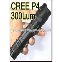 CREE P4 (6300K-7300K) LED Flashlight (ASU_008)
