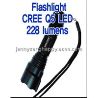 CREE Q5 LED 228 Lumens Flashlight (ASU_CREE Q5)