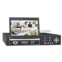 DVR with 7 inch Hidden TFT Monitor (SC-8004T)