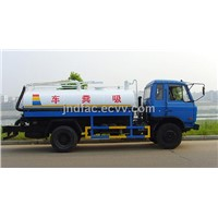 Dongfeng Flat Head Absorb-Feces Truck - 7400L