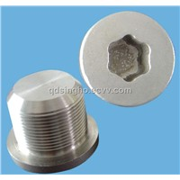 "Drain Screw r 1 1/4"" with Hexagon Inside"