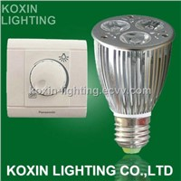3*3W Dimmable LED Spotlight (E27)