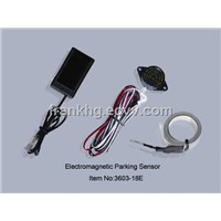 electromagnetic parking sensor with audio