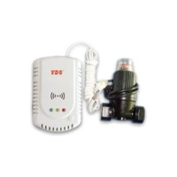 Gas Detector / Gas Alarm with Safety Valve