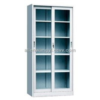 Glass Sliding Door Steel Locker