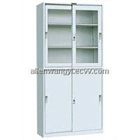 Glass Door Steel Locker