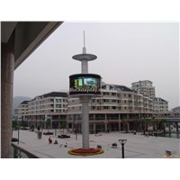 LED Circular Display