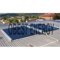 Non Pressure Stainless Steel Solar Collector