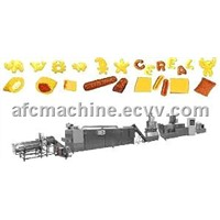 Puffed Food Snacks Processing Machine