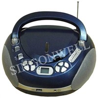Portable CD/AM/FM Radio Player