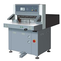 Digital Display Hydraulic Paper Cutting Machine (Guillotine, QZYX660)