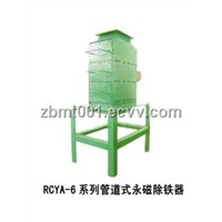 Pipe-Line Type Permanent Magnetism De-Ironing Separator (RCYA-6 Series)