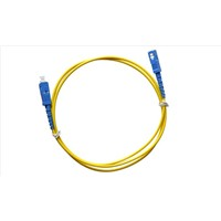 SC-SC SM Simplex 3.0 Fiber Optic Patch Cord