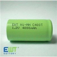 Solar Light Ni-MH C4000mAh 1.2V Battery
