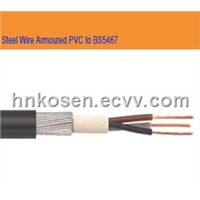 Steel Wire Armoured PVC Cable (SWA Cable )