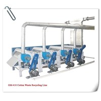 Yarn Waste Recycling Machinery (GM Series)