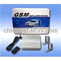 Two Way Intelligent Voice GSM Car Alarm System
