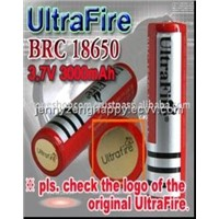 UltraFire Li-ion 18650 protection cover battery(UF-BRC 18650)