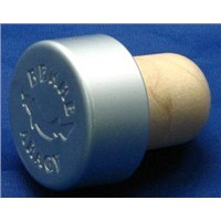 Wine Stopper, Bottle Stopper, Cork Stopper TBEH20-White