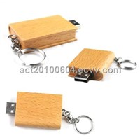 Wooden USB Flash Drive Memory Stick