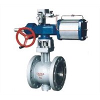 ZSSV V-Type Control Ball Pneumatic Valve