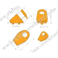 Cutter Holder Flat Teeth Holder