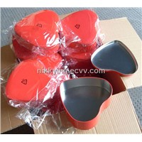 Heart Metal Tin Gift Box