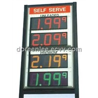 LED Petrol Price Sign Board