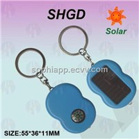 Mini Solar torch with Compass